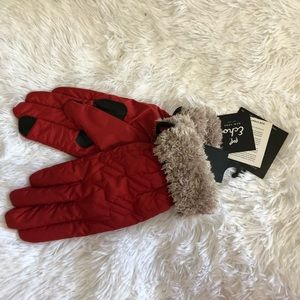 Echo Faux Fur lined Touch gloves